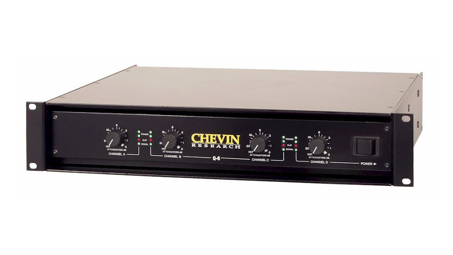 Chevin Q6 4x600w Amplifier