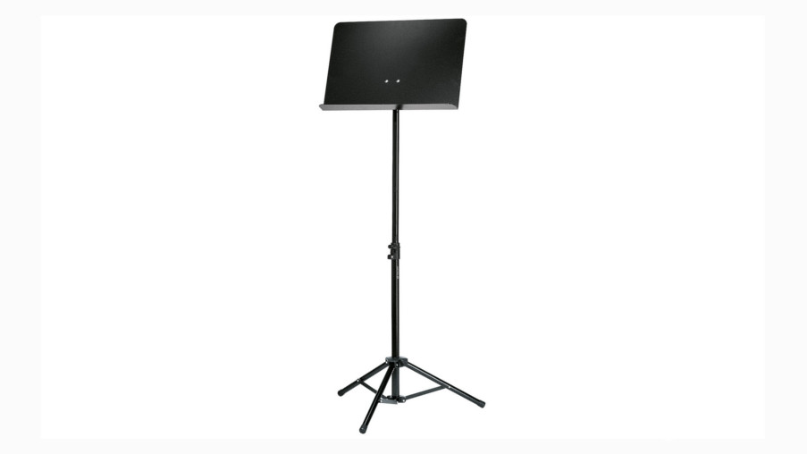 K&M 11888 Music Stand, Black, Telescopic