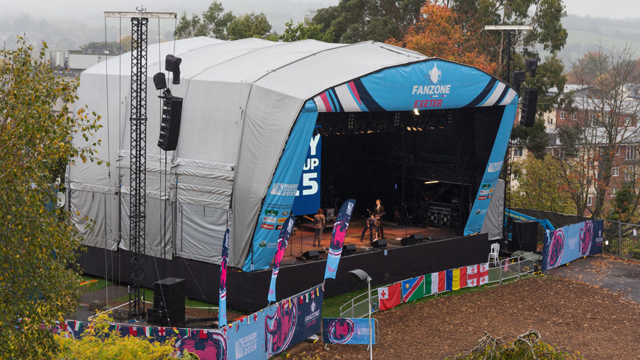 Exeter's Rugby World Cup Fanzone