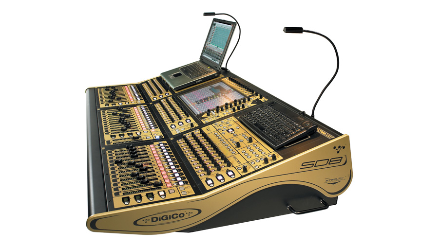 DiGiCo SD8 mixing console