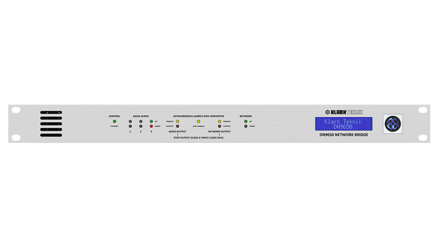 Klark Technik DN9650 AES50 / MADI Network Bridge