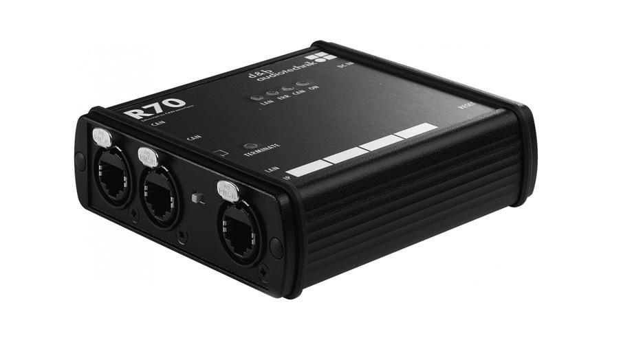 d&b audiotechnik R70 CAN Interface
