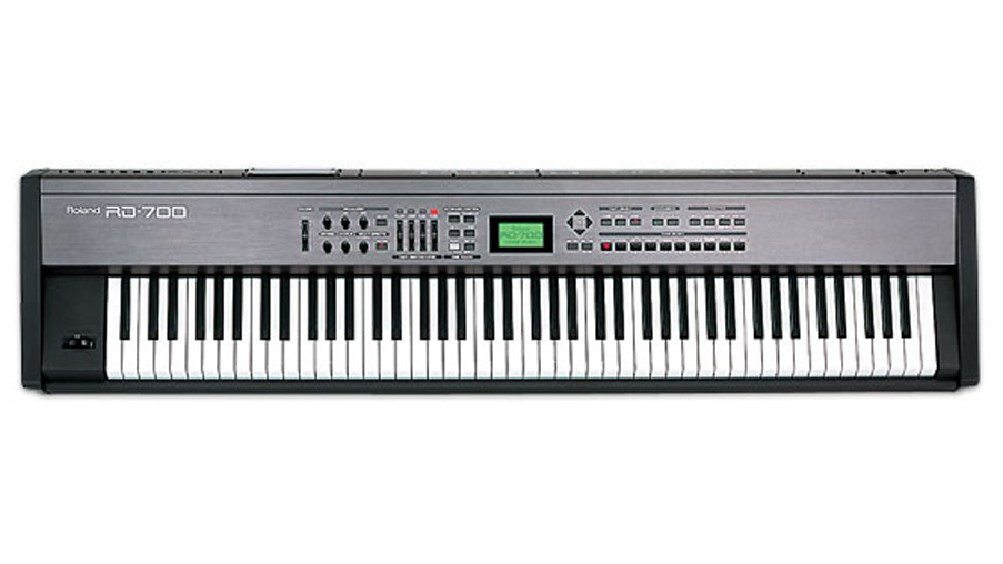 Roland RD-700 88 note weighted Stage Piano, inc Flightcase
