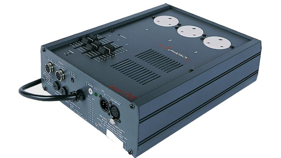 Zero88 Alphapack 3 channel DMX Dimmer
