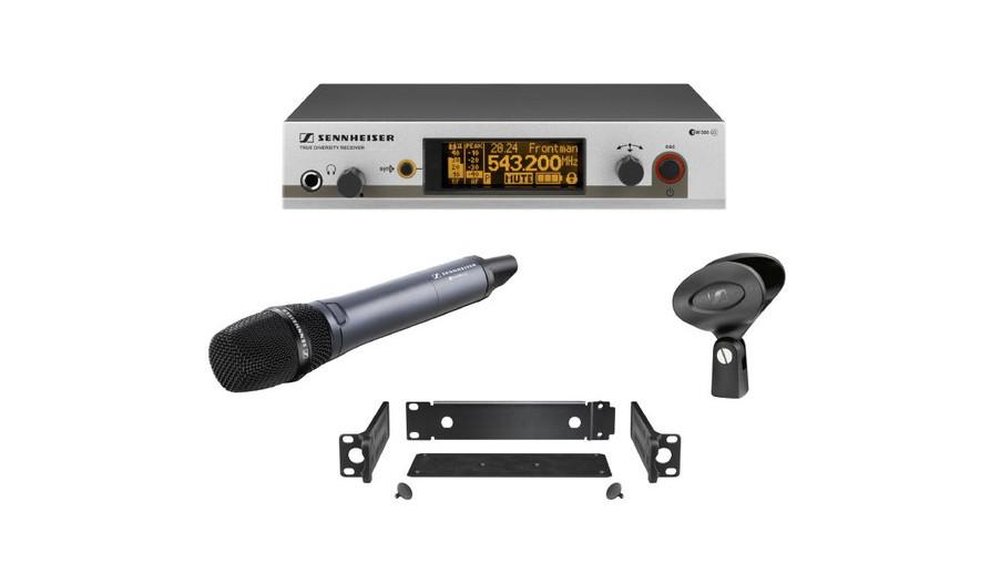 Sennheiser EW300 G3 Handheld Radio Mic Kit, (range GB)
